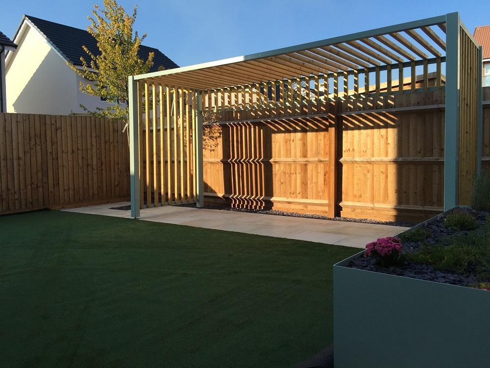 Pergola moderna tejados donosti cenador estructura de madera