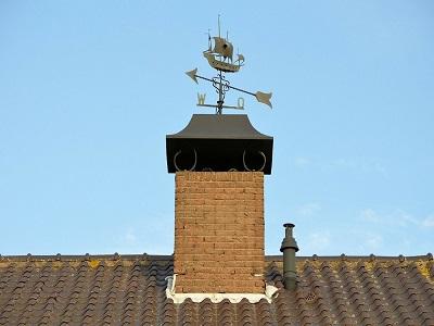arreglo de chimeneas en donosti base de chimenea en tejado san sebastian