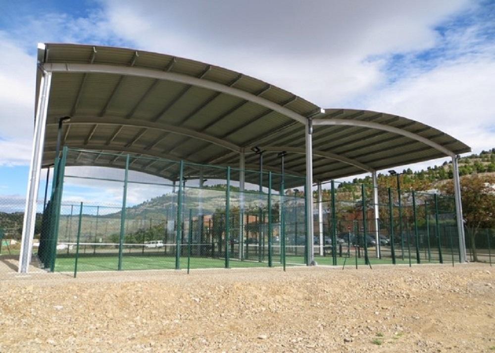 cubierta de pabellon deportivo en donosti guipuzcoa