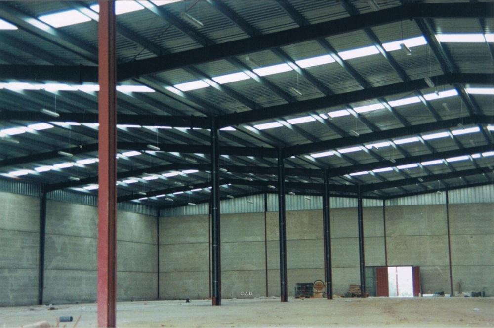 cubiertas metalicas industriales tejados donosti en guipuzcoa