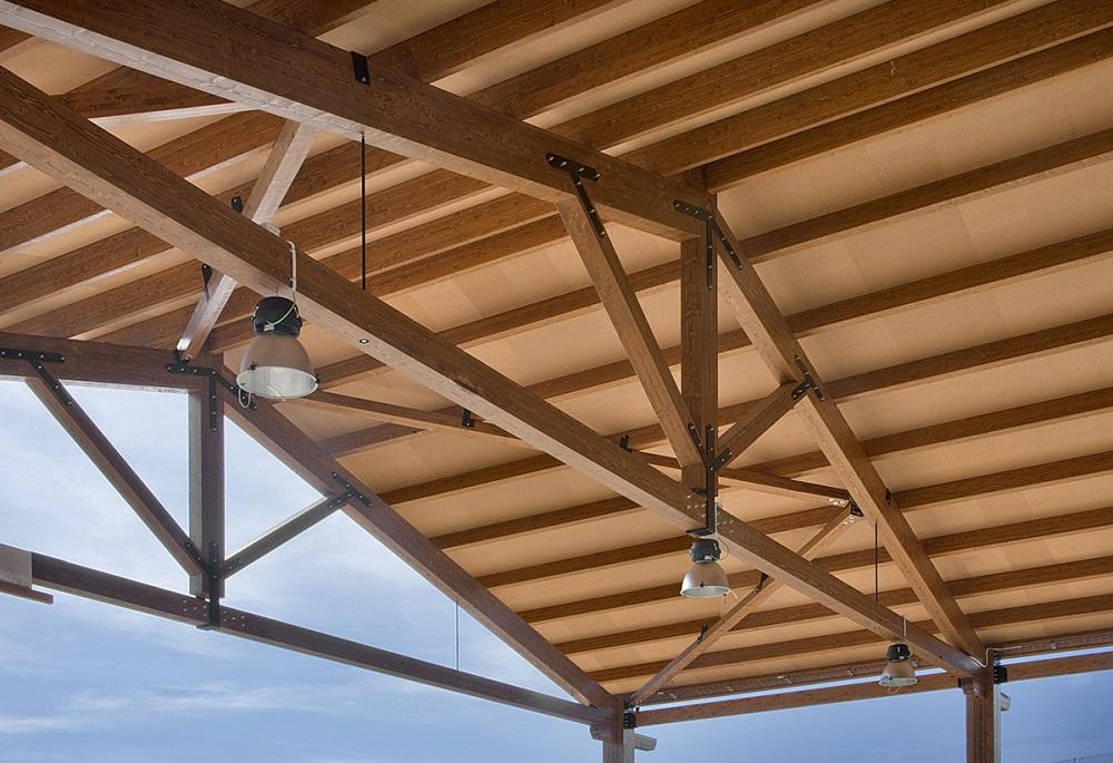 estructuras de madera tejados Donosti tejados de madera