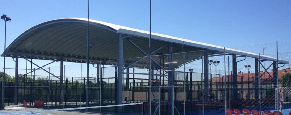 instalaciones deportivas cubierta y tejados donosti en Guipuzcoa pista de padell cubiertas en donosti y tejados