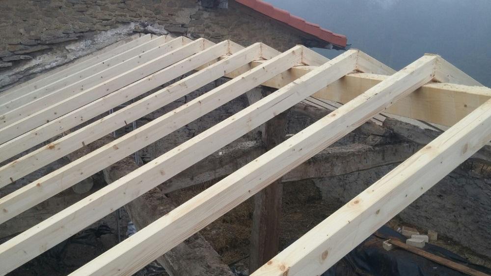 estructura de madera en donosti