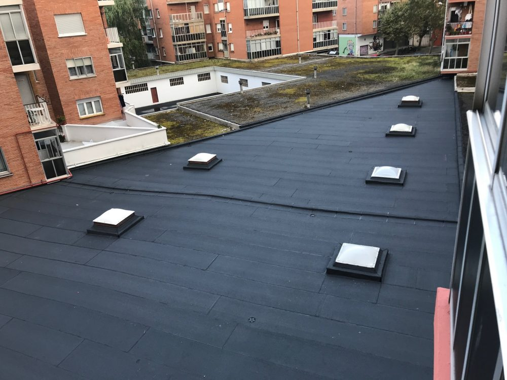 telas asfalticas en donosti tejados donosti