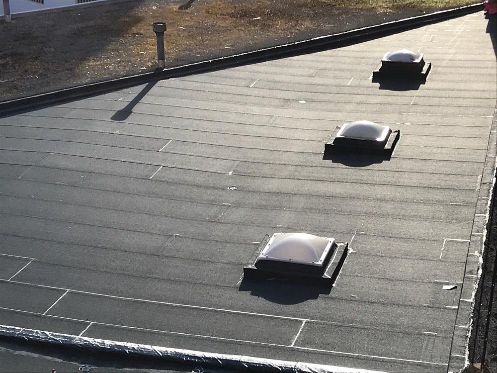 trabajo de impermeabilizacion tejados donosti barrio